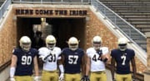 Texas DE Colt Ellison Recaps Notre Dame Official Visit