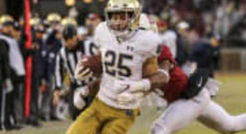 3-2-1 Notre Dame Receivers Analysis: Numbers, Questions  Prediction