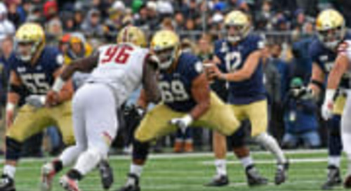 Notre Dame 2020 Two-Deep Projection: Offense