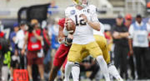 Notre Dame Quarterbacks, 3-2-1: Numbers, Questions  Prediction