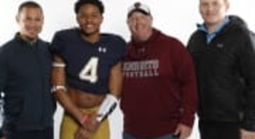 Head Coach Of RB Chris Tyree Sees A Fit In South Bend