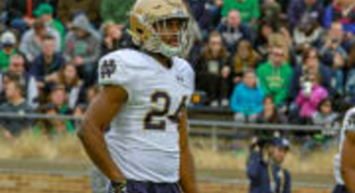 Irish Safety Nick Coleman Stepping Up This Preseason
