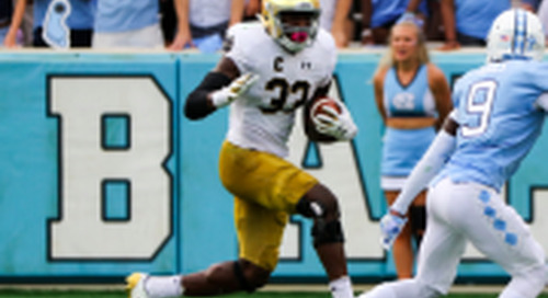 Grades: Notre Dame Offense vs. North Carolina