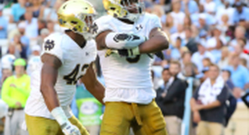 Irish Huddle Podcast: Notre Dame at North Carolina Recap
