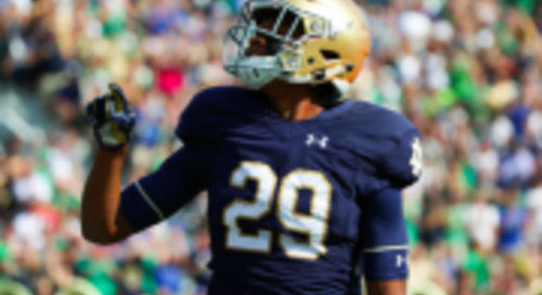 Notre Dame Notebook: Kevin Stepherson To Return To Action This Weekend