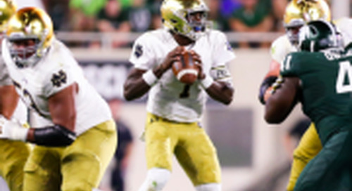 Grades: Notre Dame Offense vs. Michigan State