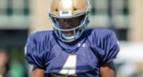 Notre Dame Football: August 12 Practice Notes And Observations