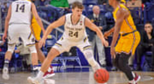 Notre Dame Guard Robby Carmody Suffers ACL Injury; Out For The Year