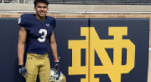 Arizona Receiver Marcus Libman Enjoys First Look At Notre Dame