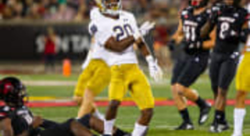 Notre Dame's Shaun Crawford Continues Fighting Irish Spirit
