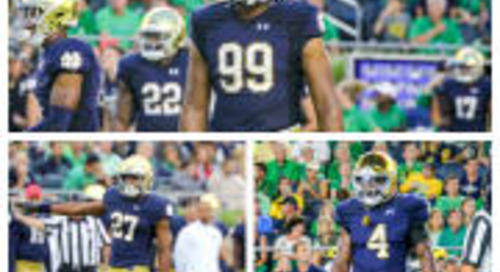 Three Irish Players Honored On Midseason All-American Teams