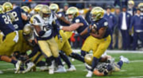 ANALYSIS: Notre Dame's Third-And-Short Data From 2019