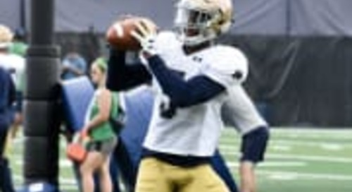 Notre Dame Practice Report: Defense