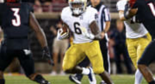 Notre Dame Run Game Shows Diversity In Season-Opening Victory