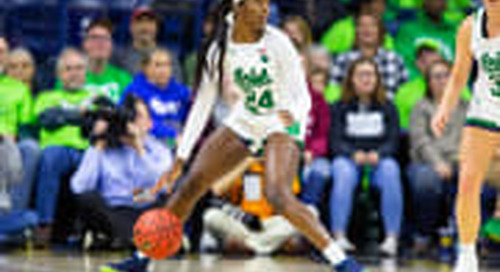 Notre Dame Women Rally But Fall Short In 75-67 Defeat to Minnesota