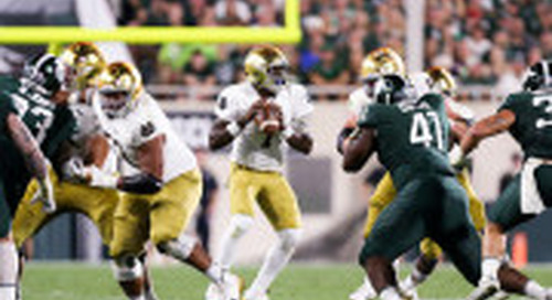 Notre Dame-Michigan State: By The Numbers, Turning Point & More