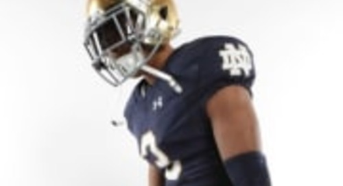Lorenzo Styles Enjoying The Notre Dame Committed Life