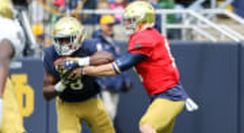 Physicality The Buzz Word Among 2019 Notre Dame Running Backs