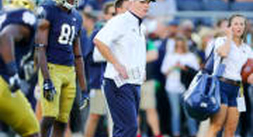Part II: Notre Dame OC Talks Wide Receivers And Tight Ends