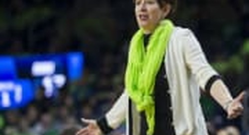 Notre Dame Women's B-Ball Moving Forward In New Phase