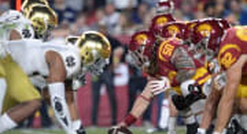 Notre Dame Vs. USC: On Paper