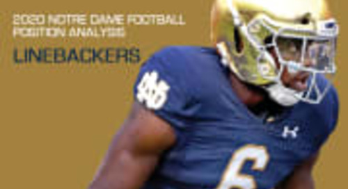 2020 Notre Dame Football Analysis: Linebackers
