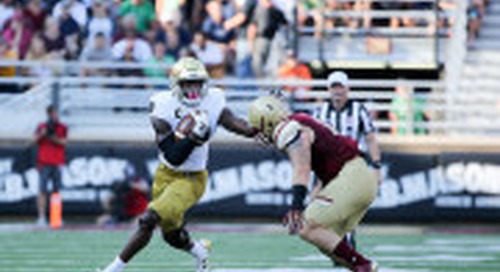 Notre Dame's Josh Adams Tries To   Stay Strong For The Long Run