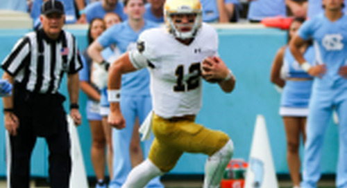 Snap Counts: Notre Dame at North Carolina