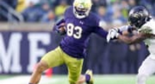 Notre Dame Pass Game Must Improve Upon 2017 Inefficiency
