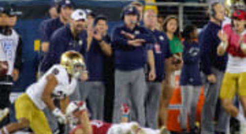 Notre Dame's Three-Year Run Deserves Much More Love