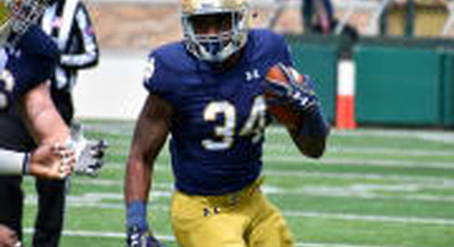 Irish Huddle Podcast: Previewing The Running Back Depth Chart