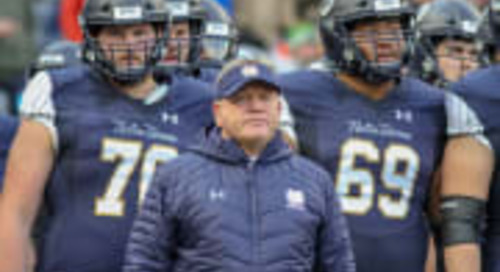 Brian Kelly Named Finalist For The Dodd Trophy