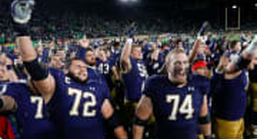 Notre Dame's Scholarship Numbers Crunching