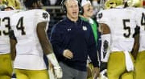 Part III: Notre Dame DC Clark Lea Talks Linebackers