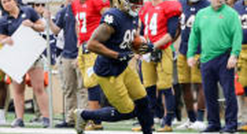 Alize Mack: Stage Is His To Continue Notre Dame's Tight End U. Trend