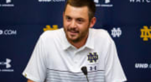 Notre Dame's Tommy Rees Continues Accelerated Pace