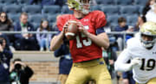 BGI VIDEO: Notre Dame Practice Highlights - August 12th