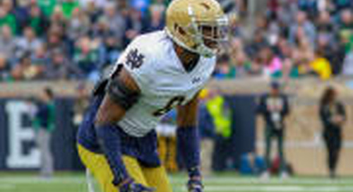 Irish CB Donte Vaughn 'Playing With A Lot More Confidence'