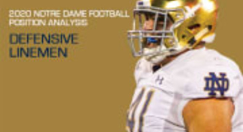 2020 Notre Dame Football Analysis: Defensive Linemen