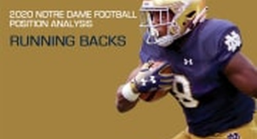 2020 Notre Dame Football Analysis: Running Backs