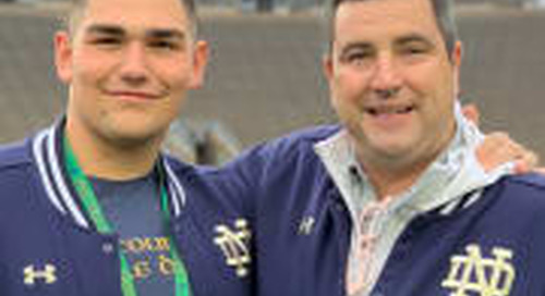 No Matter The Circumstance, Irish Commit Rubio Is Focused On Getting Better