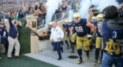 Notre Dame-North Carolina: 10 To 1 Countdown
