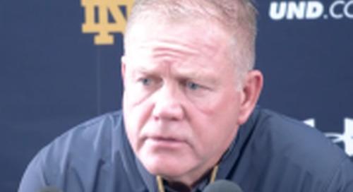 Video: Brian Kelly Post-North Carolina