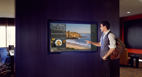 Courtyard by Marriott Uses Digital Signage to Improve the Guest Experience