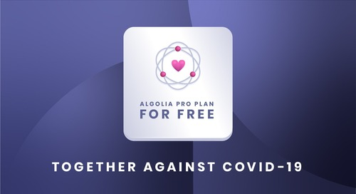Free Pro search plan for COVID-19 sites and apps