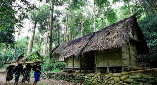 Ekowisata di Perkampungan Baduy
