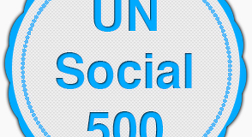 United Nations Staff Recognized with Digital Badge for Advancing UN Work through Social Media