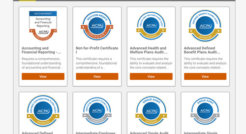 """How Digitized Credentials are Helping AICPA Members """"Prove It"""""""