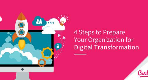Four Steps Prepare Your Organization for Digital Transformation
