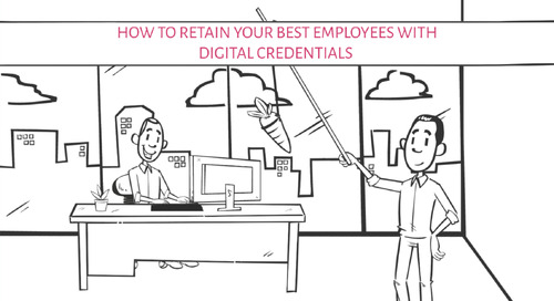 VIDEO: How to Retain Your Best Employees With Digital Credentials